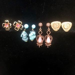 Vintage Screw Back Earring Collection